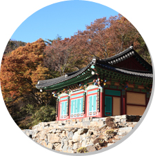 Mt.Amisan(Jungdaeam Temple)